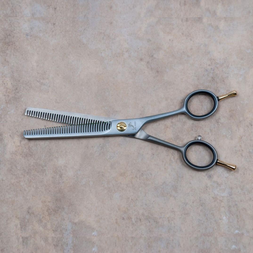 Jean Peau effileer schaar dubbele tanden de schaar is 16,5 centimeter