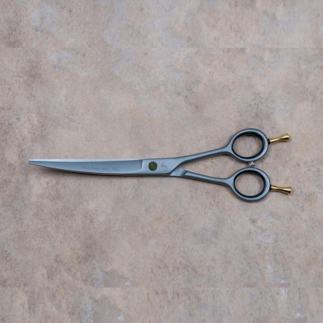 Jean Peau schaar gebogen tanden van 18 centimeter